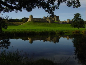 Alnwick Castle nature