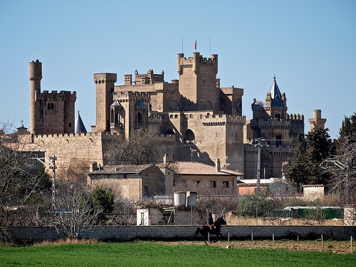 Olite Castle Castles Palaces And Fortresses