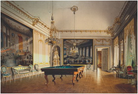Schönbrunn Palace Billiard room