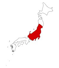 Castles In Japan Castles Palaces And Fortresses - Japan map red